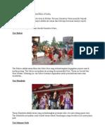 Kesenian Daerah Sumatera Utara