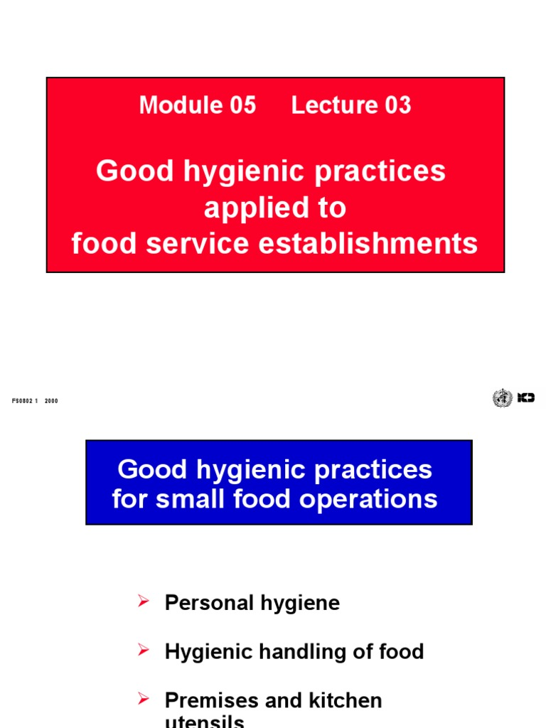 FS-0503 OK | Hazard Analysis And Critical Control Points | Hygiene