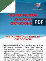 Instrumental Usado en Ortodoncia