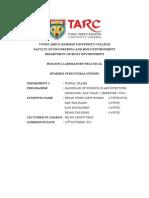 Lab Report Portal Frame