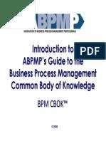 Intro to BPM