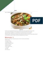Indonesian Dan Japan Food