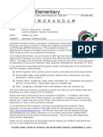 to parents - operation christmas child october 23 2015