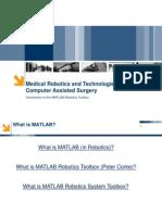Introduction to Matlab Robotics Toolbox