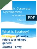 Strat Corp Dev