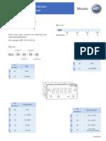 TD20830201 D1272AT Indicator En