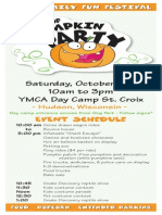 2015 Pumpkin Party Flyer