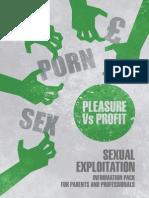 Sexual Exploitation - Pleasure vs Profit