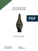 Arte Africano en El British