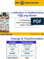 IT@Large Banks - Nasscom 31 Aug 2004 CTO Bank of Baroda Final Chandrasekhar