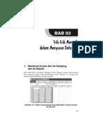 Cara Praktis & Cepat Bekerja Dengan Excel 2007 & 2010