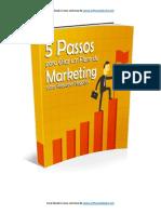 5 Passos Para Criar Um Plano de Marketing Para Pequenos Negócios.