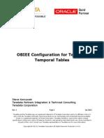 OBIEE Configuration for Teradata Temporal Tables