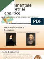 Fundamentele geometriei analitice