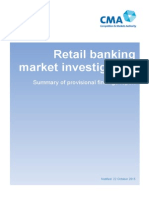 CMA Retail Banking Market Investigation October 2015