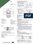 User Manual t50 Ita