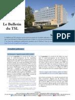 Bulletin du TSL - Septembre 2015