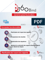 360Bind solution tests de non-régression SAP BO