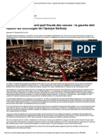 Suppression de la demi-part fiscale des veuves