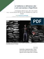 Imigrantes Haitianos e Africanos No Brasil