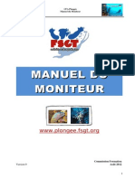 Manuel Moniteur activité aquatique