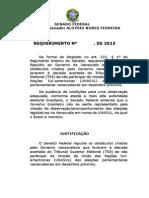 Requerimento de moção de repúdio ao governo Maduro por veto a Jobim