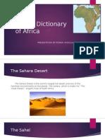 digital dictionary of africa