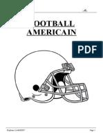 Règles Football Americain