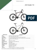 Fuji Bikes - NEVADA 1.7D USA Archive