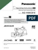 Panasonic Aghmc81eju Manual 2
