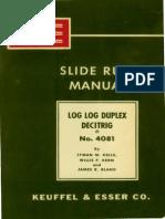 Vintage Sliding Rule