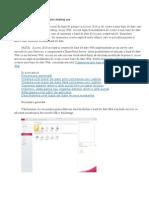 Crearea Unei Baze de Date Desktop Noi