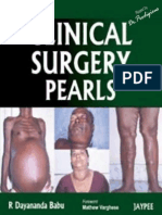 R Dayananda Babu - Clinical Surgery Pearls