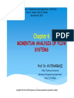 Fluid Chp 6 Momentum Anaysis of Flow Systems