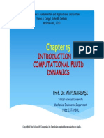 Fluid Chp 15 Introduction of Computational Fluid Dynamics