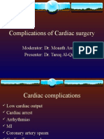 Complications of Cardiac Surgery