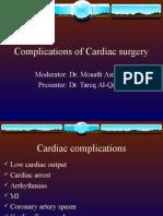 Complications of Cardiac Surgery