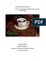 Market Solutions to the Global Supply of Illicit Drugs in Latin America 1