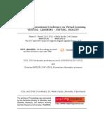 Proceedings of ICVL 2015 (ISSN 1844-8933, ISI Proceedings)