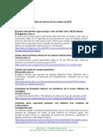 Boletín de Noticias KLR 22OCT2015