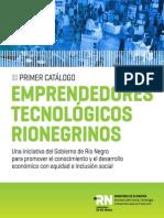 Catalogo Emprendedores Tecnológicos Rionegrinos
