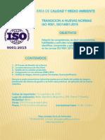 Curso ISO 9001:2015 ISO 14001:2015