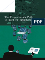 BCG the Programmatic Path to Profit for Publishers