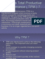 What is Total Productive Maintenance ( TPM )1