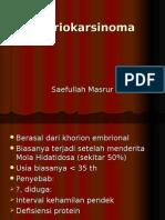 26. KHORIOKARSINOMA