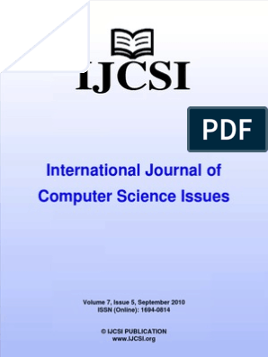 International Journal of Computer Science Issues