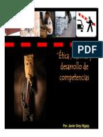 Etica Valores y desarrollo de competencias Javier Urey (Octubre 2015).pdf