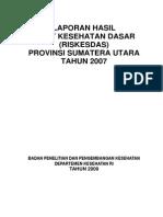 Gambaran Kondisi Sosial Budaya Pada Salah Satu Daerah Tingkat Dua Di Provinsi Sumatera Utara