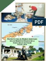 Proyecto para el Manejo Adecuado de los Residuos Solidos en la Costa Abajo de Colon, Panama