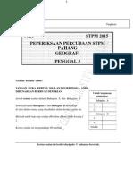 SOALAN PERCUBAAN PENGGAL 3 2015 - GEOGRAFI STPM.pdf